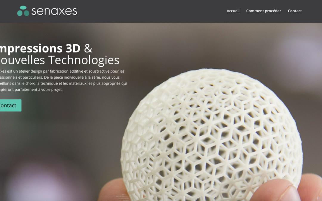 La start-up d'impression 3D Senaxes offre des masques de protection pour combattre Covid-19