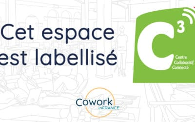The Euripole coworking space, labelled C3 by Cowork in France!
